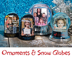 Ornaments & Snow Globes