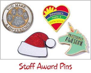 Staff Award Pins