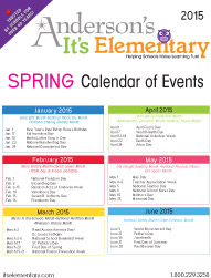 Spring Calendar of Events