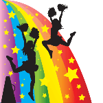0018 - Cheerleader Rainbow
