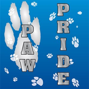 0195 - Paw Background