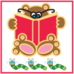 0337 - Reading Bear & Book