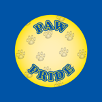 1186 - Paw Pride Blue & Yellow