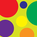 1387 - Mulit-Colored Circles