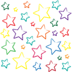1669 - Crayon Stars light