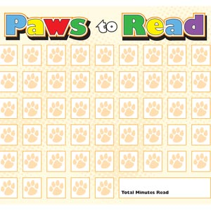 2594 - Paws to Read Fill In