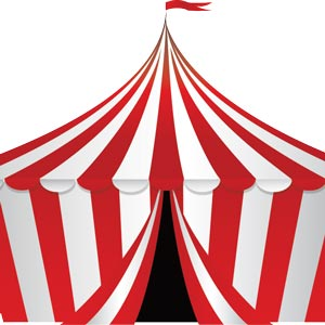 3508 - circus tent colored