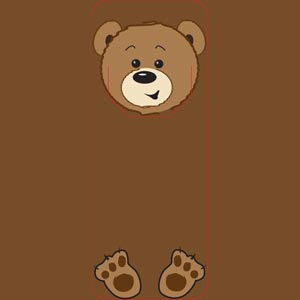4016 - Bear Bookmark