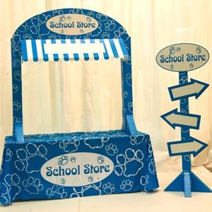 4019 - paw school store awning