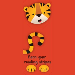 4027 - Tiger Bookmark