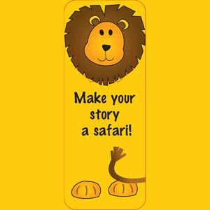 4028 - Lion Bookmark