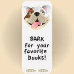 4033 - Bulldog Bookmark