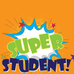4105 - Colored Super Student Cr