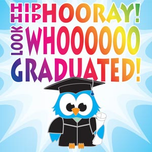 4242 - Whooo Graduated with Owl
