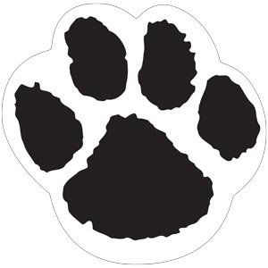 4289 - Black and White Paw