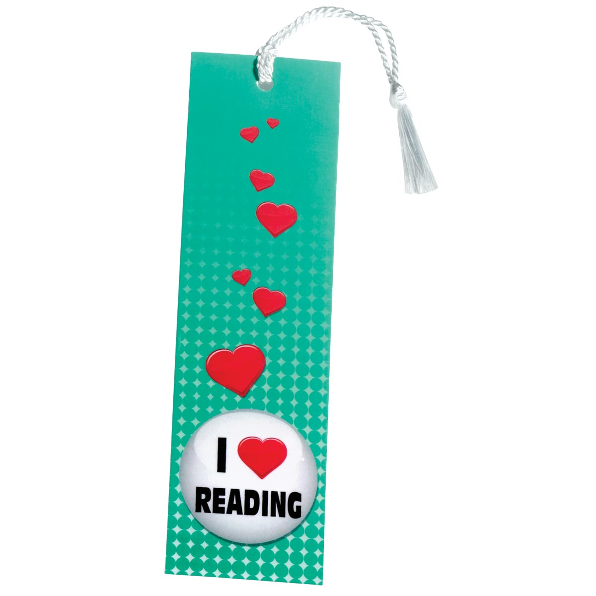 2740 - I Heart Reading Button