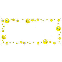 1330 - Smiley Face Background