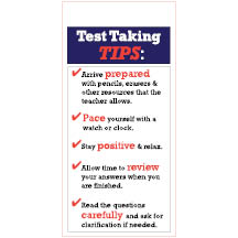 1020 - Test Taking Tips
