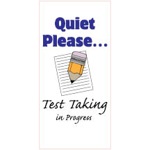 1023 - Quiet Please... Test Tak