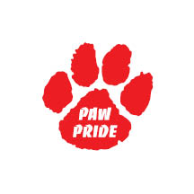 1081 - Red Paw Pride