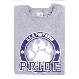 Paw Pride Youth T-Shirt - Blue Design