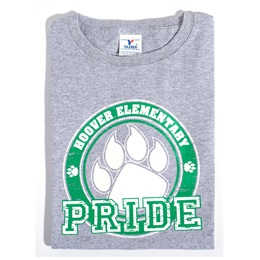 Paw Pride Youth T-Shirt - Green Design