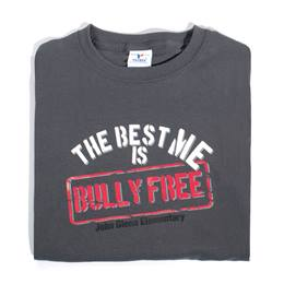 The Best Me is Bully Free Custom T-Shirt