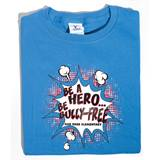 Be A Hero, Be Bully Free Custom T-Shirt