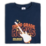 3rd Grade Rocks Custom Youth T-Shirt