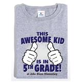 Awesome 5th Grade Custom T-Shirt