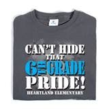 6th Grade Pride Custom Youth T-Shirt