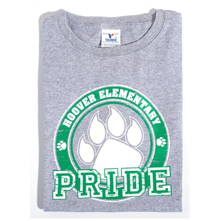 Paw Pride Adult T-Shirt - Green Design