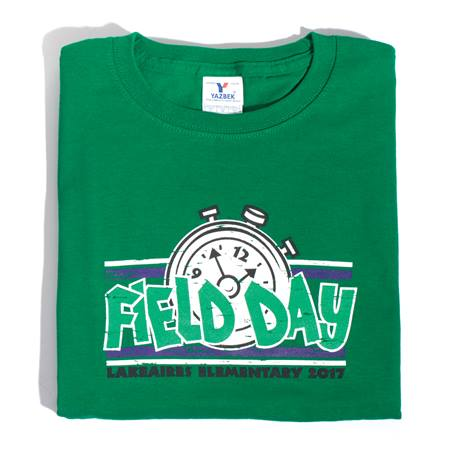 Field Day/Stopwatch Adult T-Shirt