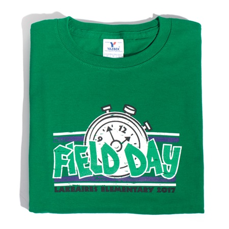 Field Day Stopwatch Adult T Shirt Anderson 39 S