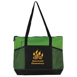 Premium Zippered Tote Bag