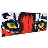 Put-in-Cups Fence Decorations - Tiger Eyes
