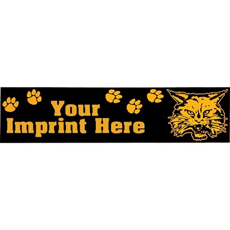 "Rectangle Bumper Sticker - 3"" x 11 1/2"""