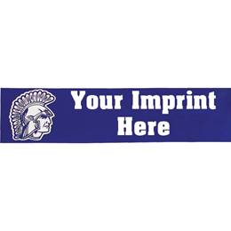 "Rectangle Bumper Sticker - 3 3/4"" x 15"""