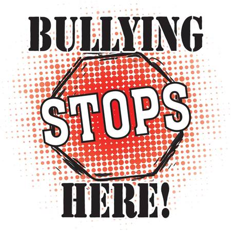 Bullying Stops Here Car Magnet