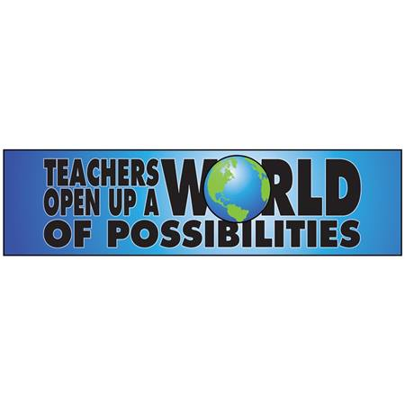 Teachers Car Magnet