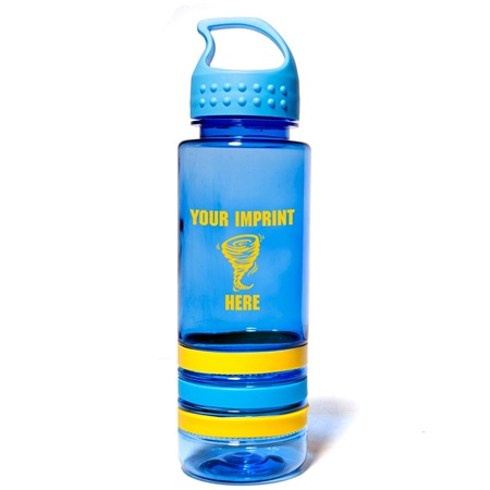 24 oz. Sergeant Tritan Bottle with Crest Lid