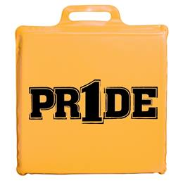 """Pr1de"" Seat Cushion - Gold"