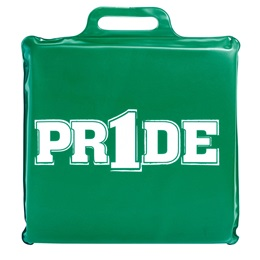 """Pr1de"" Seat Cushion - Green"