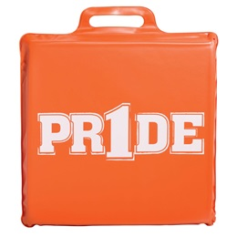 """Pr1de"" Seat Cushion - Orange"