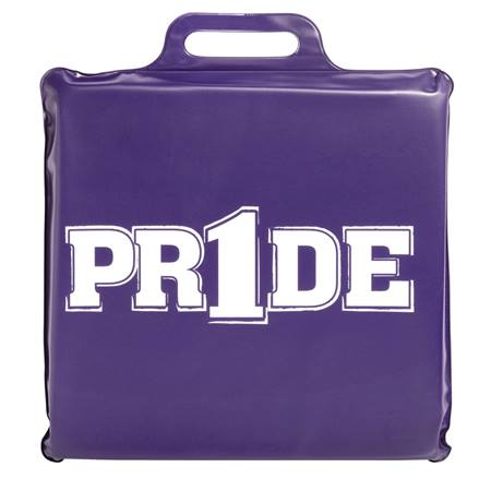 """Pr1de"" Seat Cushion - Purple"