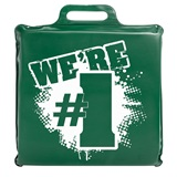 """We're #1"" Seat Cushion - Green"