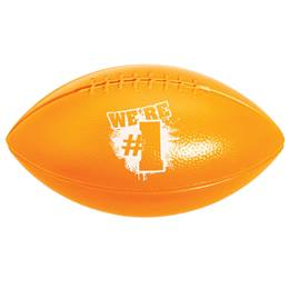 Mini Football - Orange We're #1