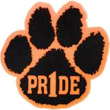 "Foam ""Pride"" Paw Mitt - Orange/Black"
