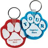 Paw Shaped Key Chain
