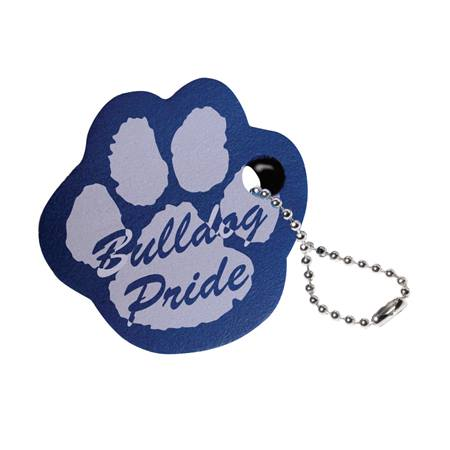 Floating Paw Key Chain